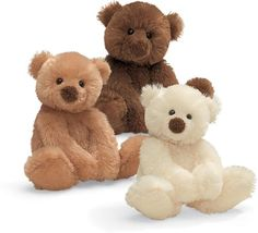 """Gund's """"Schatzi"""" Bear"""" - my very first Gund bear (chocolate one)"""