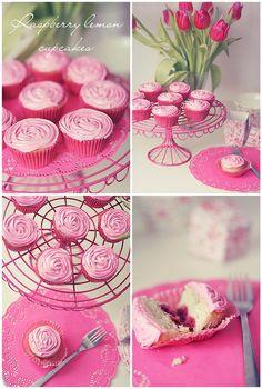 raspberry lemon cupcakes...by Call Me