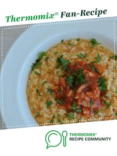Recipe Risotto Arrabbiata by Caroline Novinc, learn to make this recipe easily in your kitchen machine and discover other Thermomix recipes in Pasta & rice dishes. Nutritional Value Of Rice, Benefits Of Rice, Green Veggies, Fat Foods, Recipe Community, Food N, Vegetarian Cheese, Rice Dishes, Thermomix