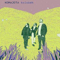 cd cover for album Kolobeh, music band: Komajota 2010