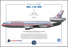 AMERICAN AIRLINES dc-10 | American Airlines Luxury Liner McDonnell Douglas DC-10-30 N138AA ...