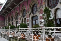 Old Orient Express railway station