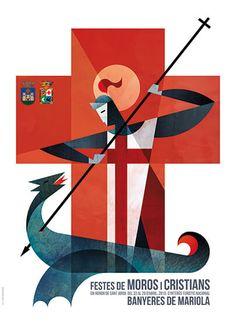 cartel moros y cristianos alicante 2016 - Buscar con Google
