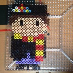 Mary Poppins perler beads by perlerobsessed