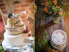 Rustic Charm and Antique Lace for a Handmade, Upcycled Barn Wedding on a Budget | Love My Dress® UK Wedding Blog