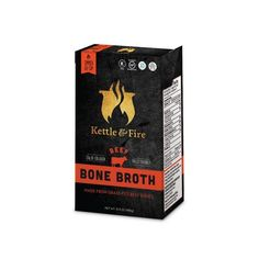 WHY OUR BONE BROTH? Our beef bone broth is loaded with amino acids, collagen, and proteins that help with leaky gut, joint and skin health. It's also: Made with bones from 100% grass-fed and grass-finished cattle Made with organic vegetables and herbs Simmered for 20+ hours Free of all hormones, antibiotics and artificial ingredients Gluten-free, Non-GMO, Organic, Dairy-free and Soy-free Each carton of bone broth contains about 2 servings (16.9oz) of collagen-rich goodness. If you...