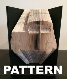 Book Folding Pattern  Car  Free by BookFoldingAustralia on Etsy