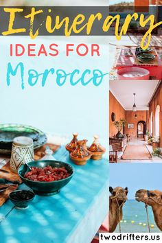 Try our Morocco itinerary to make you trip one for the ages! Whether you're going abroad for just a week or spending a couple of weeks in the African sun, we've got some recommendations for you!