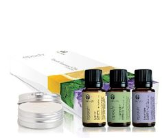 EPOCH® ESSENTIAL OILS - DISCOVERY If you are beginning your journey with essential oils, Epoch Discovery is a great introductory package to get you started. It comes beautifully packaged in a gift box and contains 1 Epoch Lemon, 1 Epoch Peppermint, 1 Epoch Lavender and 1 Epoch Aromatic Stone
