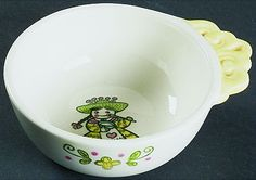 "Metlox ""Happy Time"", individual porridge/soup bowl"