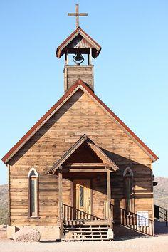 Old Wood Church, Terry K. McCarthy