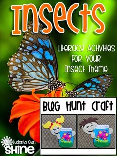 All Students Can Shine: Insects Literacy Activities