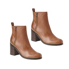The Indecisive Girl's Guide To Fall Footwear | The Zoe Report The No Frills Boots Classic Leather Boots, Gap $98