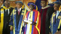Welcome to Willsgist's Blog: Photo: Tinubu awarded Honorary Doctorate Degree