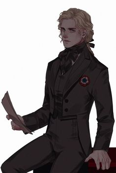 A more somber Enjolras—I really miss his red coat Character Portraits, Character Drawing, Character Concept, Concept Art, Les Miserables, Enjolras Grantaire, Character Design Inspiration, Fantastic Beasts, Fantasy Characters