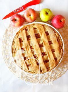 Křehký apple pie s ricottou