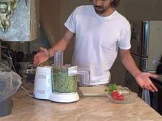 ZUCCHINI PESTO PASTA! Raw Food Recipes and Diet .