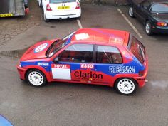 Peugeot 106 rally Car Motor Sport, Motor Car, Clarion Car Audio, Peugeot, Hatchbacks, Rally Car, Garages, Offroad, Race Cars