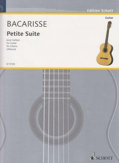 Bacarisse, Salvador. Petite Suite pour Guitarre.