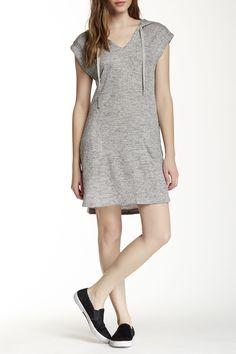 Better in blue!! ;-)  Short Sleeve Shift Hooded Dress by Max Studio on @nordstrom_rack