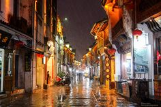 Tunxi Ancient Street   Huangshan city, Anhui province, China