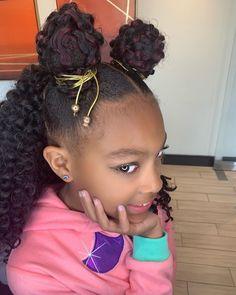 #PowerPuff Girl! Hair @angiehairstyles . . . #naturalhair #kidshairstyles #naturalhairstyles #kidsnaturalhairstyles #kidsnaturalhair #bun… Natural Hairstyles For Kids, Natural Hair Styles, Kid Hair, Natural Kids Hairstyles, Kids Hairstyle