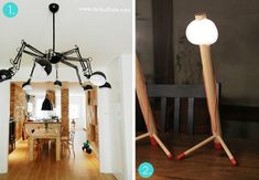 10 awesome #IKEA lamp makeovers and hacks! #DIY
