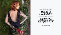 What Has Changed in Modern Wedding Etiquette | Photography: Kristina Lee Photography. Read More:  http://www.insideweddings.com/news/planning-design/gaucherie-no-more-whats-changed-in-wedding-etiquette/2745/
