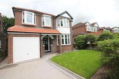 4 bedroom detached house for sale in Sidmouth Ave, Flixton - Rightmove. Porch Uk, Home Porch, House With Porch, House Front, Garage Extension, House Extension Design, House Design, Side Extension, Extension Ideas