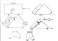 (699x494, 34Kb) patrons dels pantalons de ganxet
