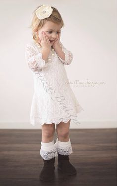 Hey, I found this really awesome Etsy listing at https://www.etsy.com/listing/197668753/sale-white-girls-lace-dress-flower-girls