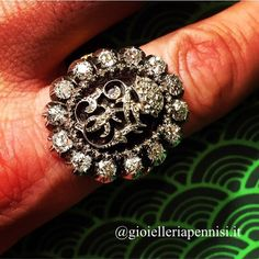 """Emperor Franz Joseph I of Austria ring of Honour """"Sub auspiciis Imperatoris"""" gifted to the country's best Students. AE Koechert, Vienna. Late 19th century. In our private collection"""