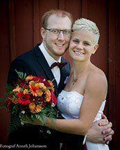 Ett nytt brudpar på Nygifta.nu. Från Skarstad . Fler brudpar och mer om bröllop hittar du på www.nygifta.nu