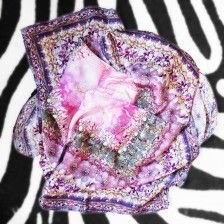 SHOP The Rose' Silk Scarf by Lexicon of Style