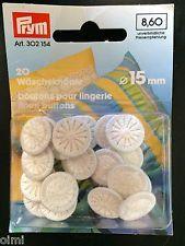 Wäscheknöpfe, thread buttons, cotton buttons