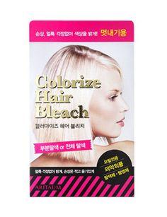 [Amore Pacific] ARITAUM Hair Bleaching Dye Colorize Hair Bleach Lightener #Aritaum