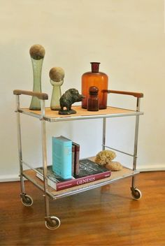 Side table I tea cart by Wucholtzky
