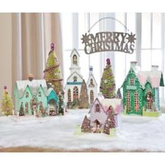 Christmas - Bright Sherbet Cottages
