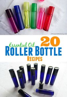 A collection of 20 must have roller bottle blends for your essential oils!