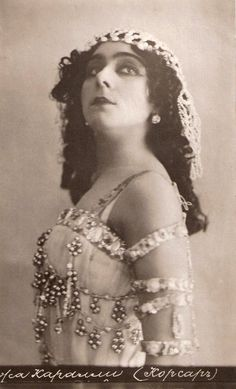One of Russia's first film stars, actress in films of Yevgenii Bauer; also a ballet dancer with the Ballets Russes