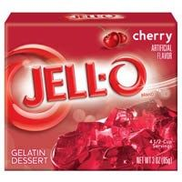 Jell-O CILIEGIO