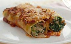 Ricotta & Spinach Canelloni