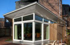 Uitbreiding woonhuis De Vleugel Almere NL | Arc2 architecten Windows, Outdoor Decor, Home Decor, Decoration Home, Interior Design, Home Interior Design, Window, Home Improvement