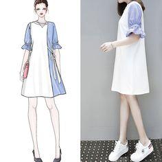 Korean Fashion – How to Dress up Korean Style – Designer Fashion Tips Cute Fashion, Asian Fashion, Look Fashion, Hijab Fashion, Girl Fashion, Fashion Dresses, Womens Fashion, Korean Outfits, Trendy Outfits