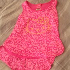 Check this item I am selling on Totspot, the resale shopping app for kids' clothes.   ❤️❤2nd ️️️PRICE DROP❤️❤️Hello Kitty double layer tank Hello Kitty  Love this! #kidsfashion
