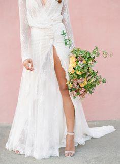 Styling + Design: Joy Proctor Design - www.joyproctor.com Floral Design: Kelly Kaufman - http://www.stylemepretty.com/portfolio/kelly-kaufman Wedding Dress: Inbal Dror - http://www.inbaldror.co.il/en Read More on SMP: http://www.stylemepretty.com/2016/07/19/stylish-california-elopement-inspiration/