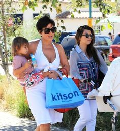 Kitson Malibu shopping day with Grandma.