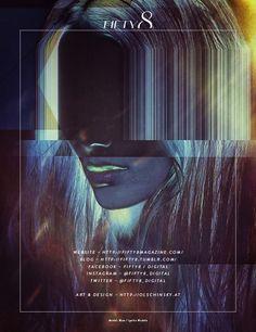 FIFTY8 MAGAZINE Issue 1 by atelier olschinsky , via Behance