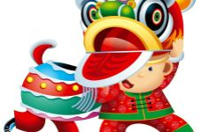 chinese new year 2014 clipart