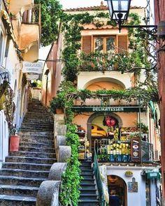 Positano via I love Italy's Facebook #ItalyVacation
